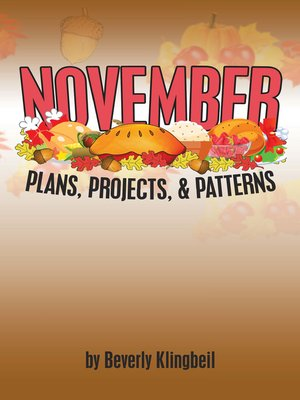 cover image of November Plans, Projects, & Patterns