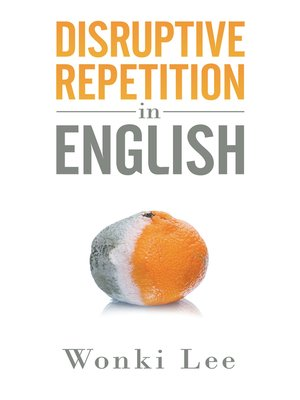 cover image of Disruptive Repetition in English
