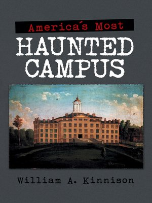 cover image of America'S Most Haunted Campus