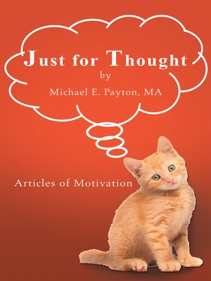 cover image of Just for Thought