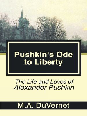 cover image of Pushkin's Ode to Liberty