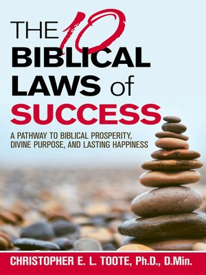 cover image of The 10 Biblical Laws  of  Success