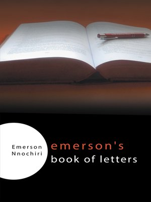 cover image of Emerson's Book of Letters