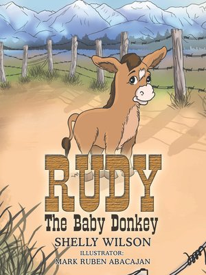 cover image of Rudy the Baby Donkey