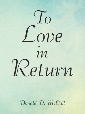 cover image of To Love in Return