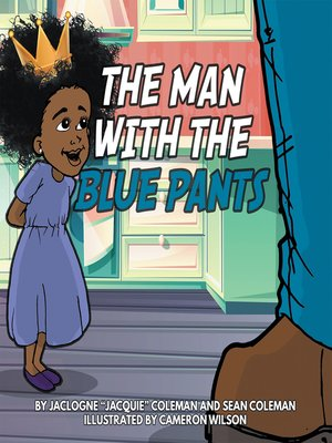 cover image of The Man with the Blue Pants