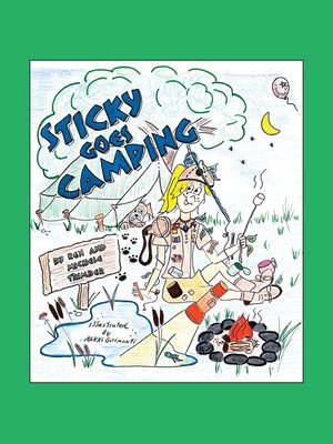 cover image of Sticky Goes Camping
