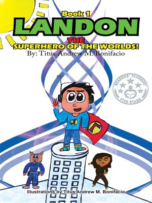 cover image of Landon, the Superhero of the Worlds!
