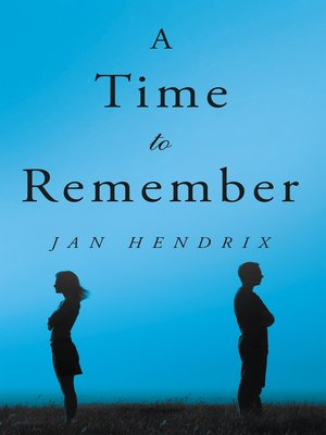cover image of A Time to Remember