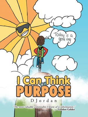 cover image of I Can Think on Purpose