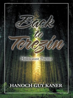 cover image of Back to Terezin