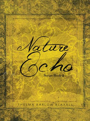 cover image of Nature Echo Series Book 2