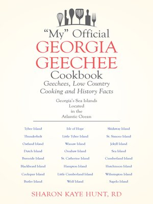 "cover image of ""My"" Official Georgia Geechee Cookbook"