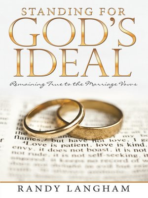 cover image of Standing for God's Ideal