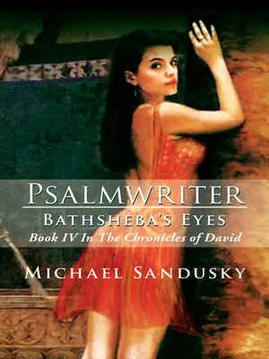 cover image of Psalmwriter Bathsheba's Eyes