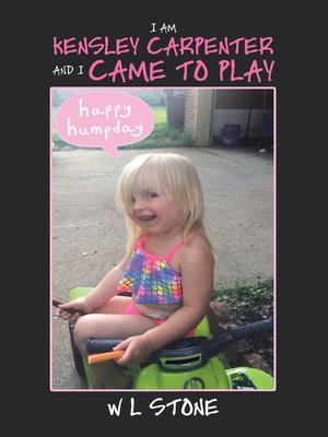 cover image of I Am Kensley Carpenter and I Came to Play