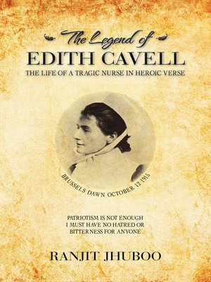cover image of The Legend of Edith Cavell