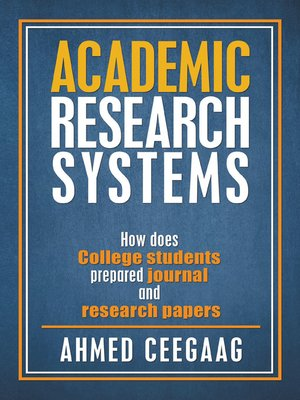 cover image of Academic Research Systems