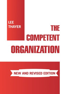 cover image of The Competent Organization