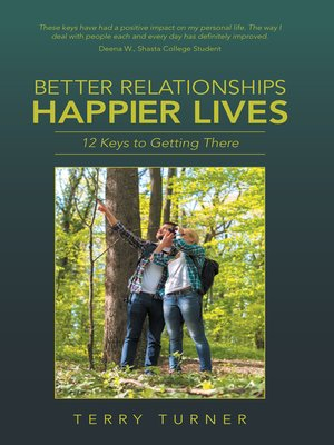 cover image of Better Relationships Happier Lives