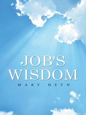 cover image of Job's Wisdom