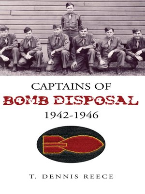 cover image of Captains of Bomb Disposal 1942-1946