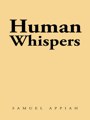 cover image of Human Whispers