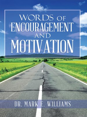 cover image of Words of Encouragement and Motivation