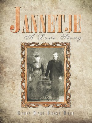 cover image of Jannetje