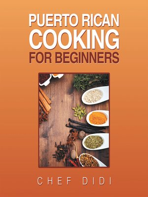 cover image of Puerto Rican Cooking for Beginners