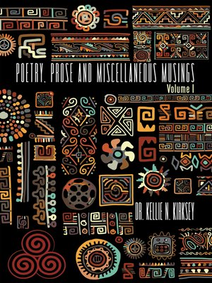 cover image of Poetry, Prose and Miscellaneous Musings