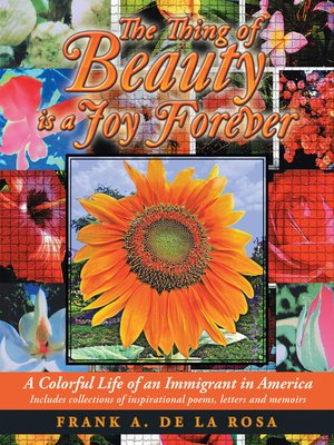 cover image of The Thing of Beauty Is a Joy Forever