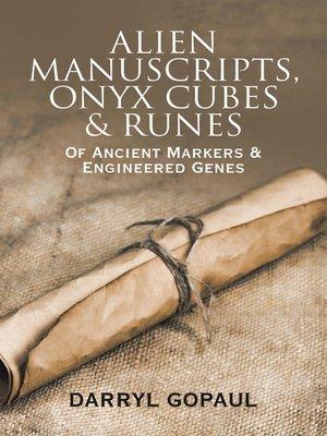 cover image of Alien Manuscripts, Onyx Cubes & Runes