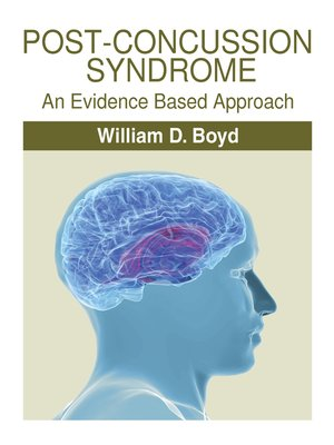 cover image of Post-Concussion Syndrome