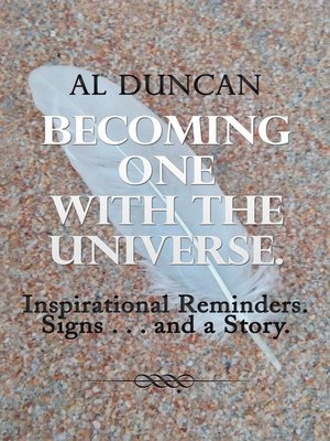 cover image of Becoming One with the Universe.