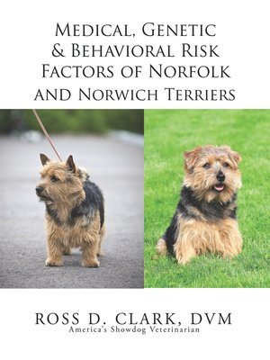 cover image of Medical, Genetic & Behavioral Risk Factors of Norfolk and Norwich Terriers