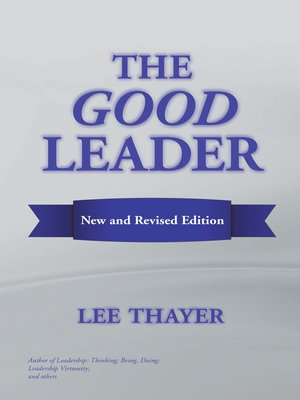 cover image of The Good Leader