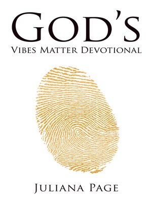 cover image of God'S Vibes Matter Devotional