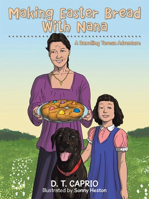 cover image of Making Easter Bread with Nana