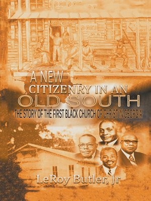 cover image of A New Citizenry in an Old South