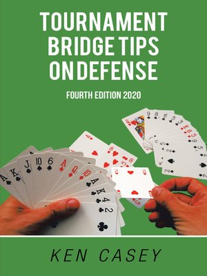 cover image of Tournament Bridge   	   	            Tips on Defense