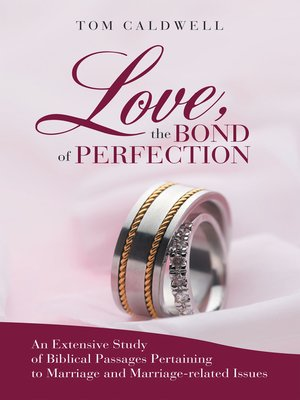 cover image of Love, the Bond of Perfection