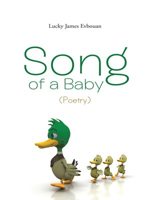 cover image of Song of a Baby (Poetry)
