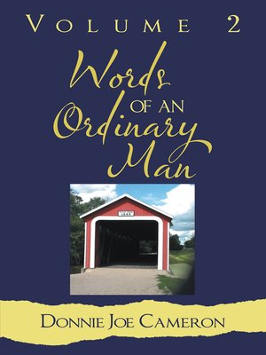 cover image of Words of an Ordinary Man