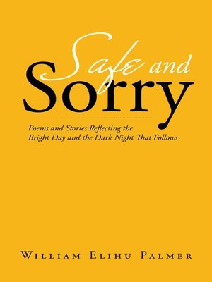 cover image of Safe and Sorry