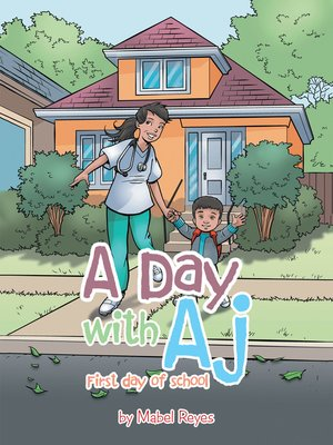 cover image of A Day with Aj