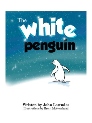 cover image of The White Penguin