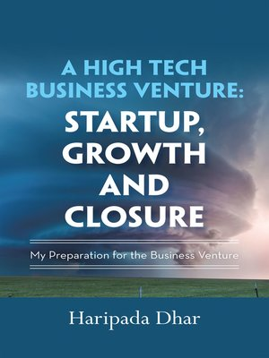 cover image of A High-Tech Business Venture