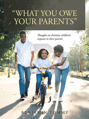 "cover image of ""What You Owe Your Parents"""