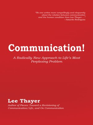 cover image of Communication!